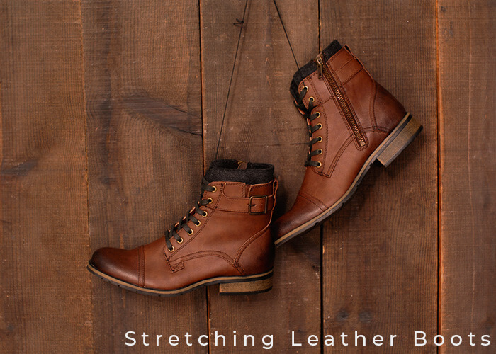 How to Stretch Leather Boots at the Toe