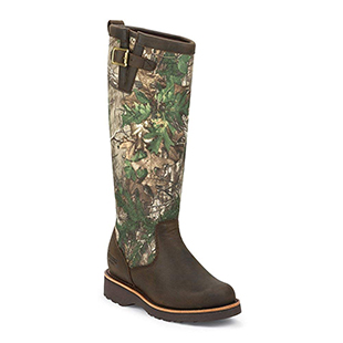 Chippewa Apache Snake Boot Round toe Apache Tan for women