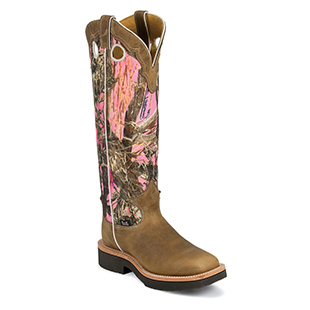Justin Women's Rugged Camo Snake Boot