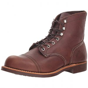 "Red Wing Men's Iron Ranger 6"" lineman Boots"