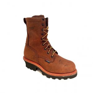 Red Wing Men's Steel Toe Logger Work Boots