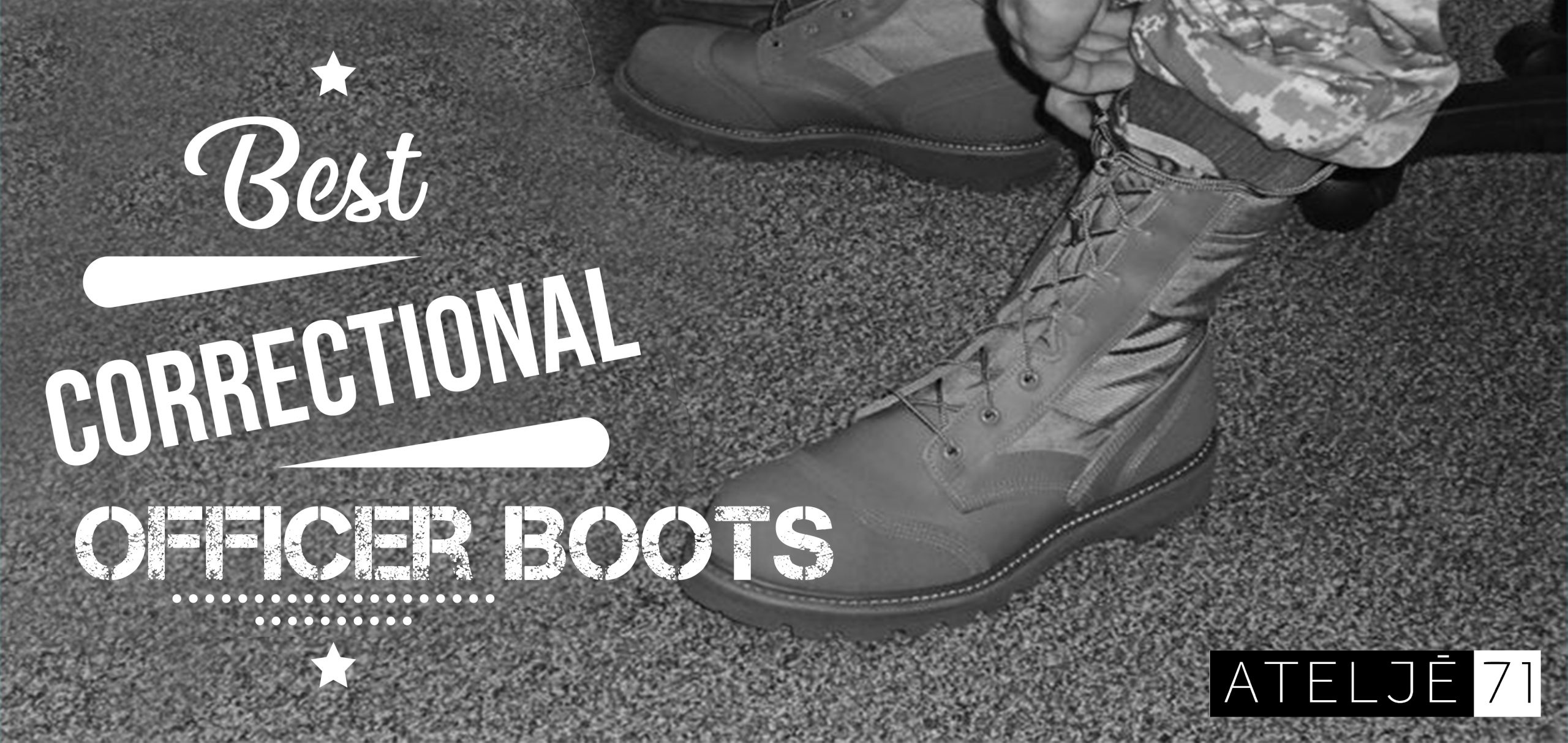 best correctional officer boots