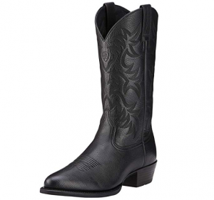 Ariat Men's Heritage Cowboy Boot (comfortable cowboy boots for walking)