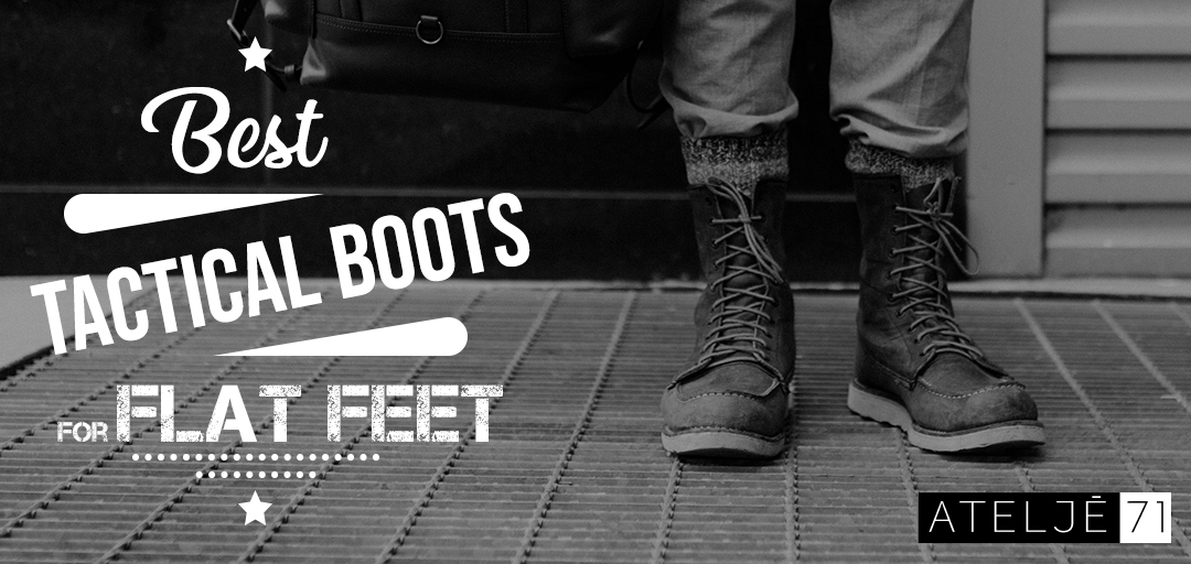 Best Tactical Boots for Flat feet