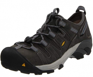 KEEN Utility Men's Atlanta Cool ESD Steel-Toe Work Shoe