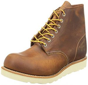 Red Wing Men's Heritage Wedge Sole Work Boot for Roofers