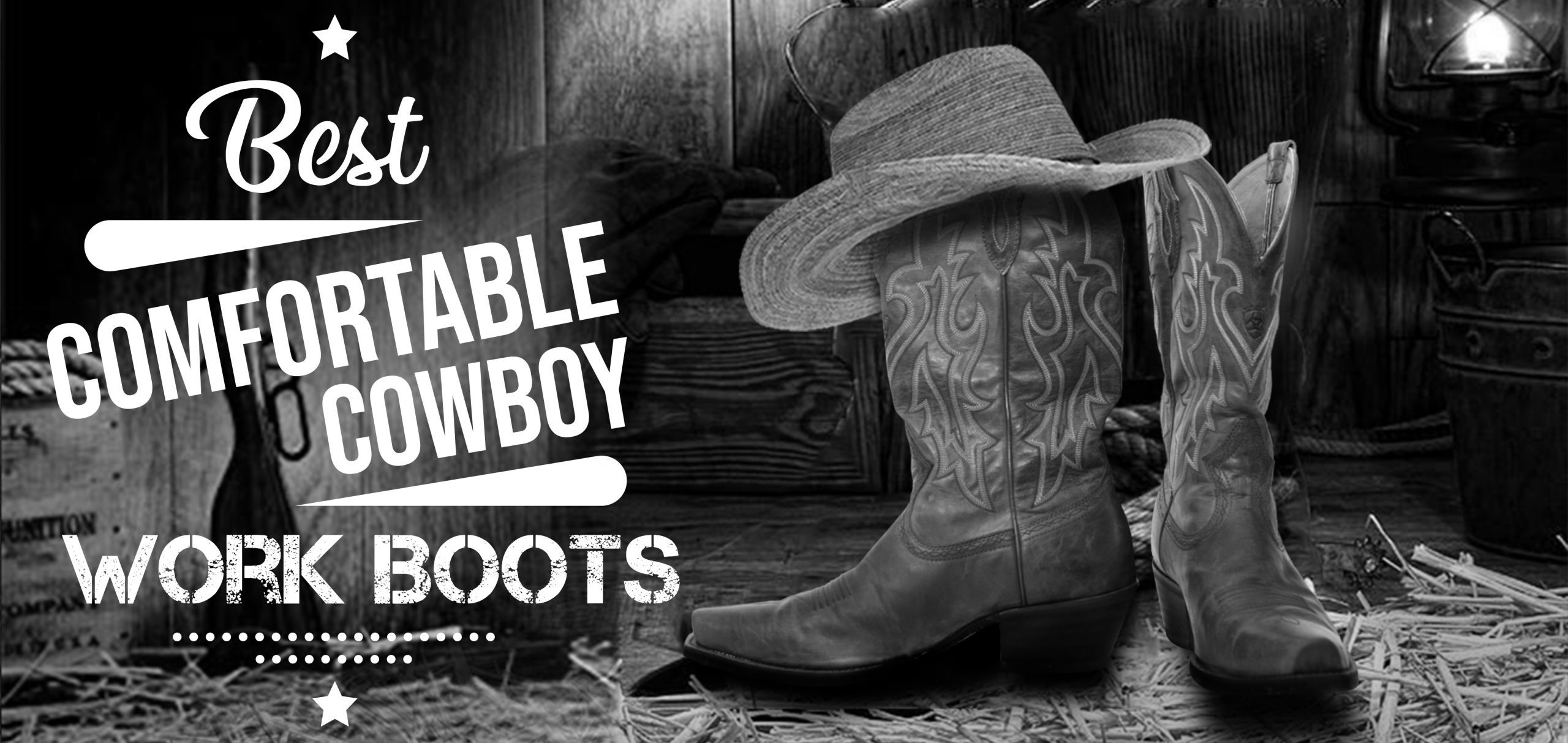 Most comfortable cowboy boots for walking