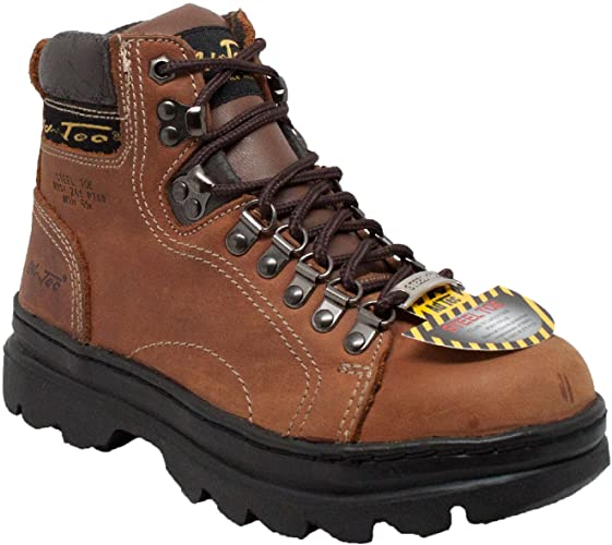 Adtec Women's 6 Steel Toe Work Boot Brown (Brown, Numeric_8_Point_5)